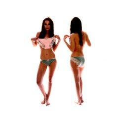 Bikini Abricot 2pack. Pomarańczowe bikini Enfin, w koronkowe wzory. Za 109,00 zł.