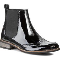 Sztyblety LORETTA VITALE - 2601 Black. Czarne buty zimowe damskie Loretta Vitale, z lakierowanej skóry. W wyprzedaży za 239,00 zł.