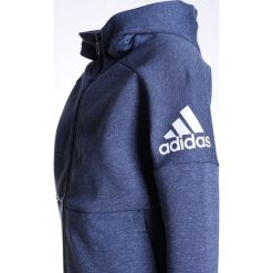 Adidas Performance STADIUM Bluza rozpinana stadno/white. Niebieskie bluzy chłopięce rozpinane marki adidas Performance, z bawełny. W wyprzedaży za 160,30 zł.