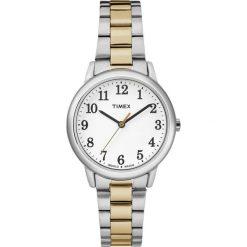 Zegarek Timex  Damski Klasyk TW2R23900 Easy Reader srebrny. Szare zegarki damskie Timex, srebrne. Za 288,99 zł.