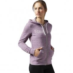 Bluza w kolorze fioletowym. Fioletowe bluzy rozpinane damskie Adidas, Reebok, xs, z nadrukiem. W wyprzedaży za 114,95 zł.