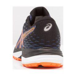 ASICS GELCUMULUS Obuwie do biegania treningowe indigo blue/black/shocking orange. Niebieskie buty sportowe chłopięce Asics, z gumy, do biegania. Za 289,00 zł.