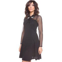 """Sukienki hiszpanki: Sukienka """"Ella"""" w kolorze czarnym"""
