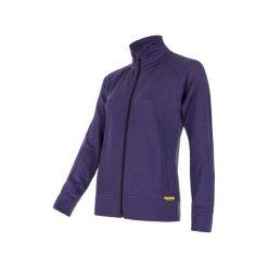 Bluzy damskie: Sensor Bluza Merino Wool 330 W Purple S