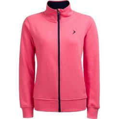 Bluza damska BLD610 - różowy neon - Outhorn. Czerwone bluzy rozpinane damskie marki Outhorn, na lato, z bawełny. W wyprzedaży za 39,99 zł.