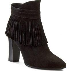 Botki OLEKSY - 238 Czarny 147. Szare buty zimowe damskie marki Oleksy, ze skóry. W wyprzedaży za 229,00 zł.