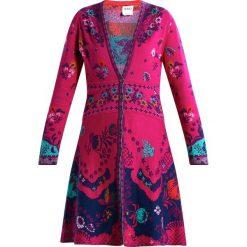 Kardigany damskie: Ivko LONG FLORAL PATTERN Kardigan pink