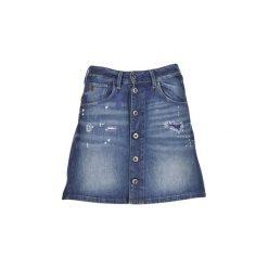 Spódnice krótkie G-Star Raw  ARC BTN A-LINE. Niebieskie minispódniczki marki G-Star RAW, retro. Za 216,30 zł.
