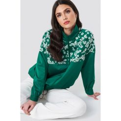 Bluzy rozpinane damskie: Samsoe & Samsoe Bluza z suwakiem Cynthia - Green