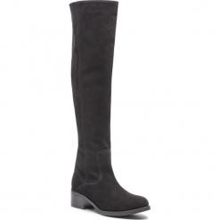 Muszkieterki SERGIO BARDI - Bellinzago FW127363118GM 801. Czarne buty zimowe damskie Sergio Bardi, z materiału, przed kolano, na wysokim obcasie. Za 429,00 zł.
