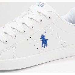 Polo Ralph Lauren QUILTON Tenisówki i Trampki white/royal. Czerwone trampki chłopięce marki Polo Ralph Lauren. Za 339,00 zł.