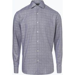 BOSS - Koszula męska – Gordon, niebieski. Czarne koszule męskie na spinki marki Boss, m. Za 429,95 zł.