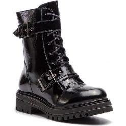 Trapery EVA MINGE - Degana 4L 18GR1372673EF 301. Czarne buty zimowe damskie Eva Minge, z lakierowanej skóry. W wyprzedaży za 439,00 zł.
