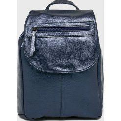 Answear - Plecak. Szare plecaki damskie ANSWEAR, z materiału. W wyprzedaży za 54,90 zł.