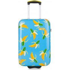 Reabags Walizka B.Hppy S. Lemon, Turkusowa. Zielone walizki marki Reisenthel, w kolorowe wzory, z materiału, duże. Za 364,00 zł.