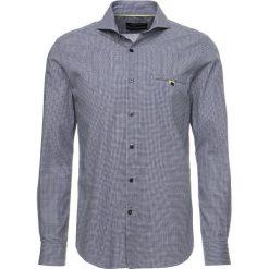 Koszule męskie na spinki: Cortefiel LONG SLEEVE SLIM FIT Koszula marine blue