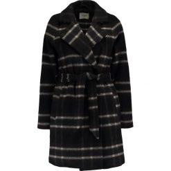 Płaszcze damskie pastelowe: Envii ENPLAY CHECK Krótki płaszcz brown
