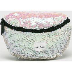 Spiral - Nerka. Szare walizki marki Spiral, w paski, z materiału. W wyprzedaży za 69,90 zł.