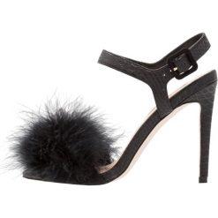 Sandały damskie: Miss Selfridge CECILIA Sandały na obcasie black