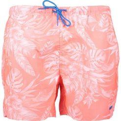 """Kąpielówki męskie: Szorty kąpielowe """"Tropical"""" w kolorze koralowym"""