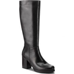 Kozaki LASOCKI - 0164-04 Black. Czarne buty zimowe damskie Lasocki, ze skóry ekologicznej, na obcasie. Za 349,99 zł.