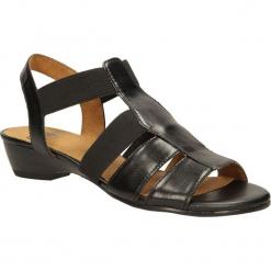 SANDAŁY CAPRICE 9-28101-24. Szare sandały damskie marki Caprice, z gumy. Za 139,99 zł.