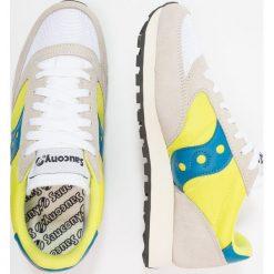 Saucony JAZZ ORIGINAL VINTAGE Tenisówki i Trampki white/neon yellow. Białe tenisówki męskie Saucony, z materiału. Za 399,00 zł.