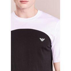 T-shirty męskie z nadrukiem: Emporio Armani COLOURBLOCK LOGO Tshirt z nadrukiem nero