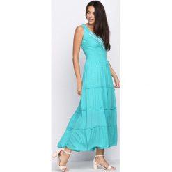 Sukienki: Zielona Sukienka Figured It Out
