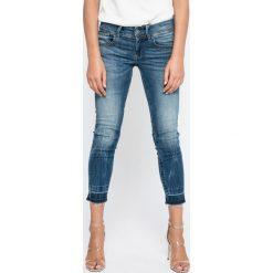 G-Star Raw - Jeansy Lynn. Niebieskie jeansy damskie marki G-Star RAW, z bawełny. W wyprzedaży za 449,90 zł.