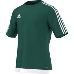 Adidas Koszulka piłkarska męska Estro 15 zielono-biała r. M (S16159). Białe t-shirty męskie Adidas, m, do piłki nożnej. Za 52,62 zł.