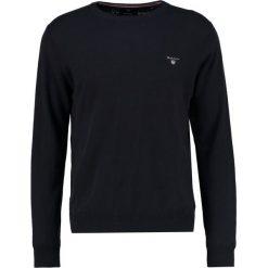 GANT CREW Sweter navy. Niebieskie swetry klasyczne męskie marki GANT. Za 419,00 zł.