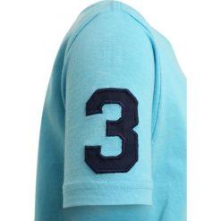 Polo Ralph Lauren BIG Tshirt z nadrukiem margie blue. Niebieskie t-shirty chłopięce Polo Ralph Lauren, z nadrukiem, z bawełny. Za 169,00 zł.