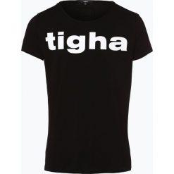 T-shirty męskie: Tigha - T-shirt męski, czarny