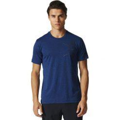Adidas Koszulka męska Free Lift Tee Tri Color granatowa r. S (BK6085). Białe koszulki sportowe męskie marki Adidas, l, z jersey, do piłki nożnej. Za 118,97 zł.