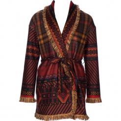 Płaszcz w kolorze bordowo-jasnobrązowym. Brązowe płaszcze damskie marki 101 idées, m. W wyprzedaży za 181,95 zł.