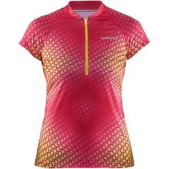Bluzki sportowe damskie: Craft Koszulka Rowerowa Velo Graphic Pink L
