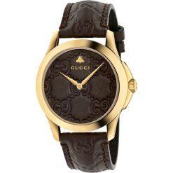 ZEGAREK GUCCI YA1264035. Brązowe zegarki damskie GUCCI, ze stali. Za 4120,00 zł.