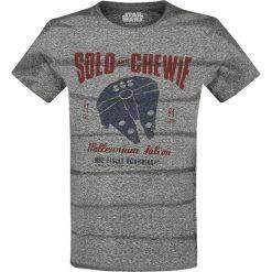T-shirty męskie: Star Wars Solo: A Star Wars Story – Solo And Chewie T-Shirt odcienie szarego