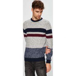 Medicine - Sweter Retro Racer. Szare swetry klasyczne męskie MEDICINE, l, z bawełny, z okrągłym kołnierzem. Za 129,90 zł.