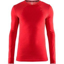 Męska podkoszulka CRAFT Fuseknit Comfort Red. Czerwone podkoszulki męskie Astratex, m, w prążki, z meshu. Za 119,30 zł.