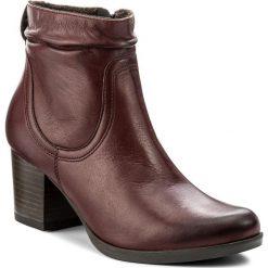 Botki LASOCKI - 1690-01 Bordowy. Czarne buty zimowe damskie marki Lasocki, ze skóry. Za 249,99 zł.