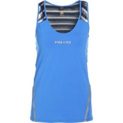 Topy sportowe damskie: Bogner Fire + Ice MADDY Top blue