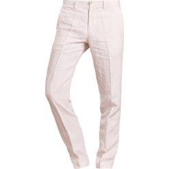 Chinosy męskie: 120% Lino PANTALONE UOMO Spodnie materiałowe natural