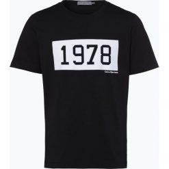 Calvin Klein Jeans - T-shirt męski, czarny. Czarne t-shirty męskie z nadrukiem Calvin Klein Jeans, l, z jeansu. Za 169,95 zł.