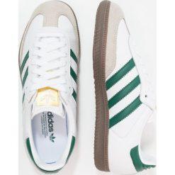 Adidas Originals SAMBA Tenisówki i Trampki footwear white/clear green/clear granite. Białe tenisówki damskie marki adidas Originals, z materiału. W wyprzedaży za 359,20 zł.