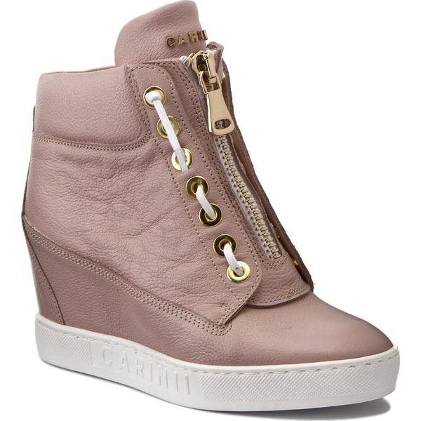 61eefc8b Sneakersy CARINII - B3924 K14-000-000-B88 - Różowe półbuty damskie ...