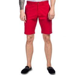 Szorty ADAMO SOTS000011. Czerwone szorty męskie Giacomo Conti, na lato, z bawełny, klasyczne. Za 149,00 zł.
