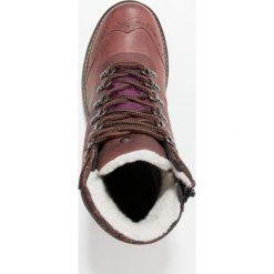 Botki damskie lity: Zebra Schuhe AYLA Botki sznurowane old pink/rubin