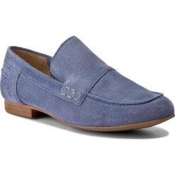 Mokasyny BRONX - 65812-C BX 1249 Jeans Blue 2004. Czarne mokasyny damskie marki Bronx, z materiału. W wyprzedaży za 189,00 zł.